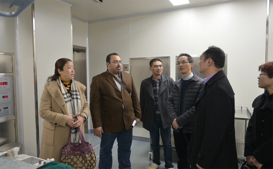 An Egyptian oncologist starts a novel journey at Suining Central Hospital